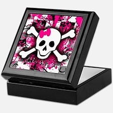 Scene Girl Skull Jewellery Box