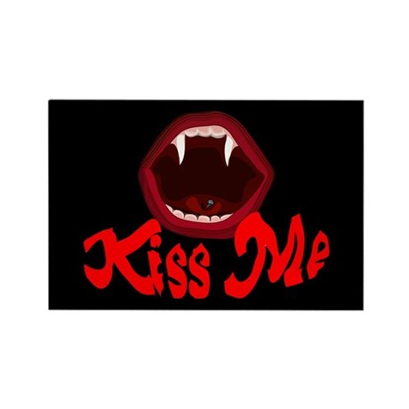 Kiss Me Rectangle Magnet (10 pack)