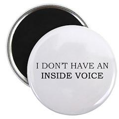 Inside Voices Magnet
