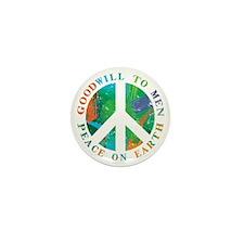 Peace on Earth Mini Button (100 pack)