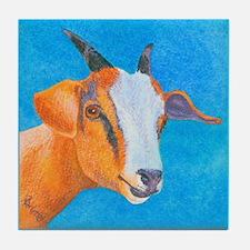 Goat #1 Tile Coaster