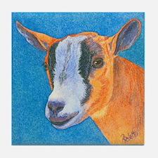 Goat #2 Tile Coaster