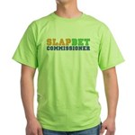 Slap Bet Commissioner Green T-Shirt