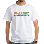 Slap Bet Commissioner White T-Shirt