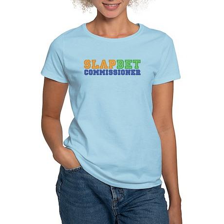 Slap Bet Commissioner Women's Light T-Shirt