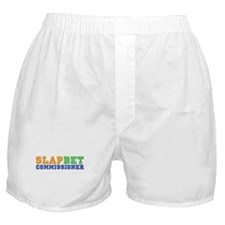 Slap Bet Commissioner Boxer Shorts