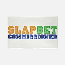 Slap Bet Commissioner Rectangle Magnet