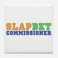 Slap Bet Commissioner Tile Coaster