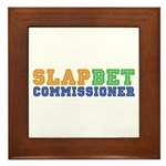 Slap Bet Commissioner Framed Tile