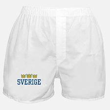 Sverige Boxer Shorts