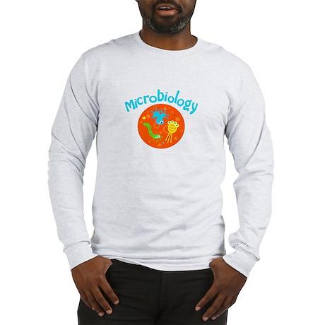 Microbiology Long Sleeve T-Shirt