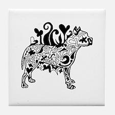 Tattoo Pit Tile Coaster