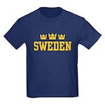 Sweden Kids Dark T-Shirt