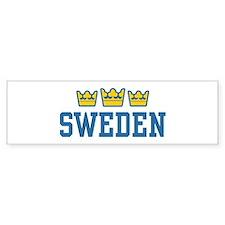 Sweden Bumper Bumper Sticker