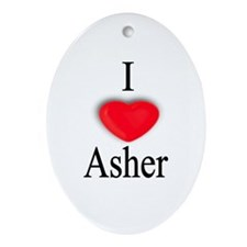 Asher Oval Ornament