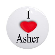 Asher Ornament (Round)