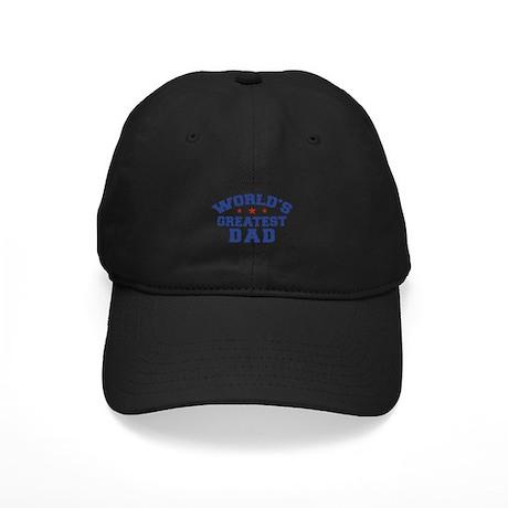 World's Greatest Dad Black Cap