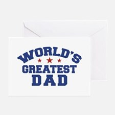 World's Greatest Dad Greeting Cards (Pk of 10)