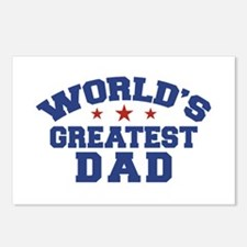 World's Greatest Dad Postcards (Package of 8)