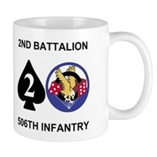 2-506th Infantry Battalion 11 Ounce Small Mugs