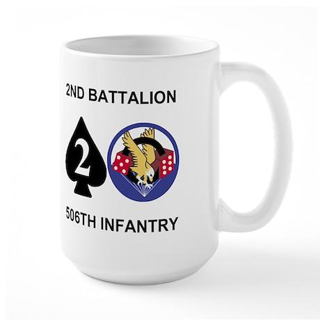 2-506th Infantry Battalion 15 Ounce Mug