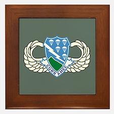 506th Infantry Regiment Framed Tile