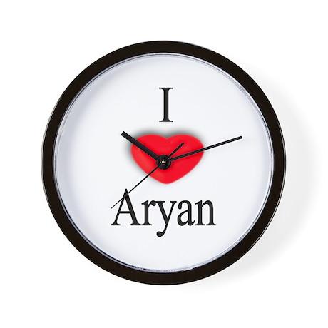 Aryan Wall Clock