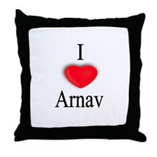 Arnav Throw Pillow