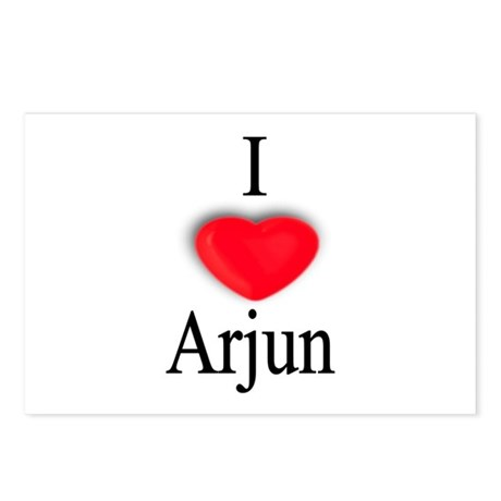Arjun Postcards (Package of 8)