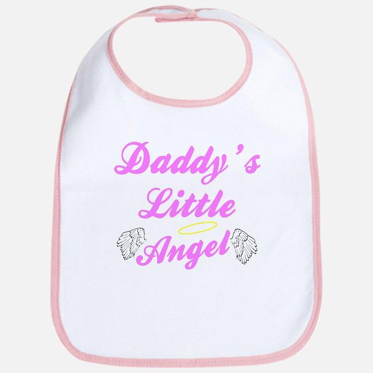 Daddy's Little Angel Bib (Pink)