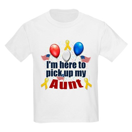 Pick up my Aunt Kids Light T-Shirt