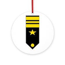 Lt. Commander Ornament (Round)