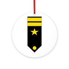 Lt. Board Ornament (Round)