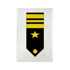 Lt. Commander Rectangle Magnet