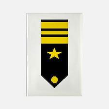 Lt. Commander Rectangle Magnet