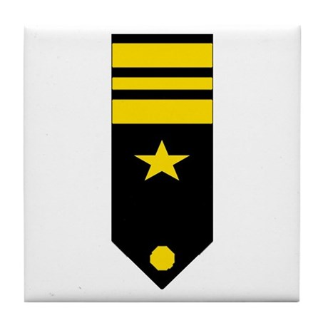 Lt. Commander Tile Coaster