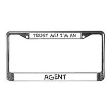 Trust Me: Agent License Plate Frame