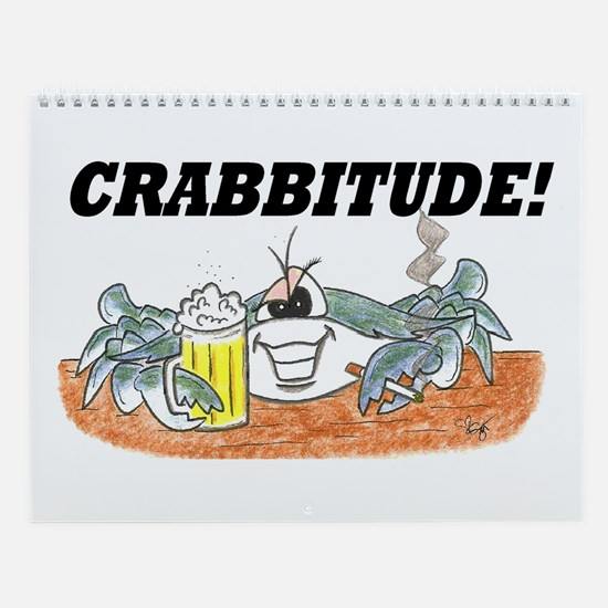 CRAB MENU Wall Calendar