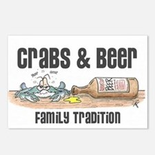 CRAB Postcards (Package of 8)