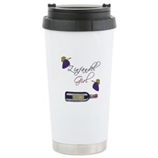 Zinfandel Girl Travel Coffee Mug