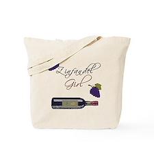 Zinfandel Girl Tote Bag
