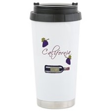 California Wine Travel Mug