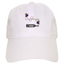 California Wine Baseball Cap