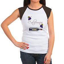 California Wine Women's Cap Sleeve T-Shirt