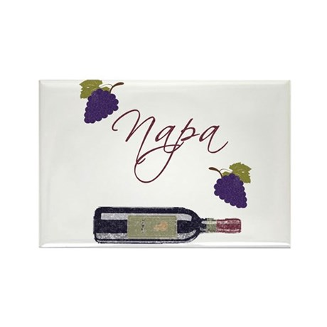 Napa Rectangle Magnet