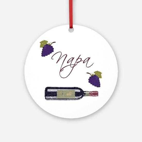 Napa Ornament (Round)