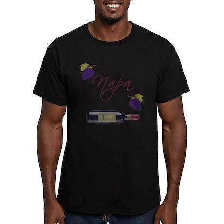 Napa Men's Fitted T-Shirt (dark)