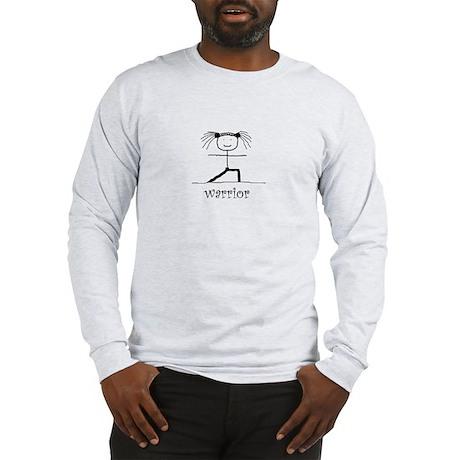 Warrior Yoga pose: Long Sleeve T-Shirt