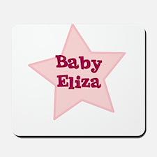 Baby Eliza Mousepad