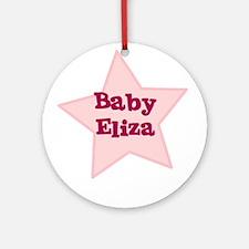 Baby Eliza Ornament (Round)